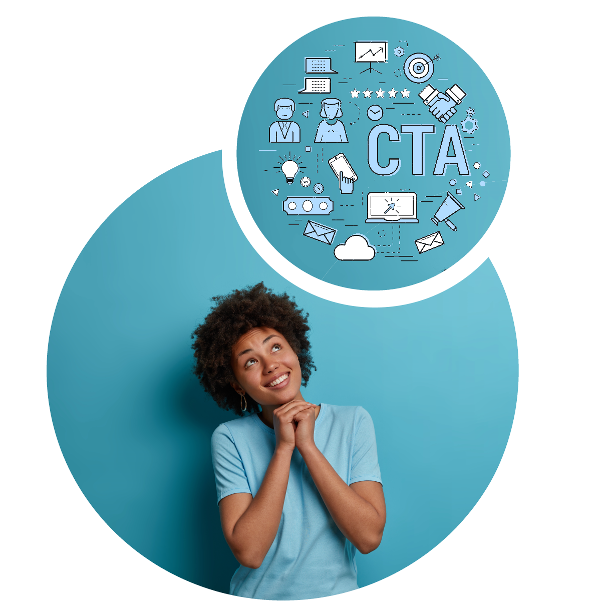 cta for easylive video message